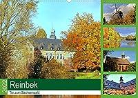 Reinbek, Tor zum Sachsenwald (Wandkalender 2022 DIN A2 quer): Reinbek, die lebendige Stadt im Gruenen, wird auch das Tor zum Sachsenwald genannt. (Monatskalender, 14 Seiten )