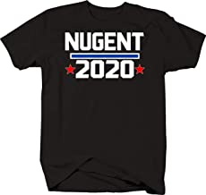 Ted Nugent for President 2020 Funny Classic Rock Musician Vote Tshirt