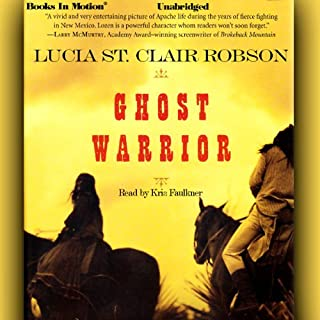 Ghost Warrior                   By:                                                                                                                                 Lucia St. Clair Robson                               Narrated by:                                                                                                                                 Kris Faulkner                      Length: 21 hrs and 57 mins     31 ratings     Overall 4.1