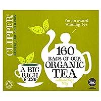 Clipper Organic Everyday Tea Bags (160 per pack) クリッパーオーガニック日常のティーバッグ(パックあたり160 )