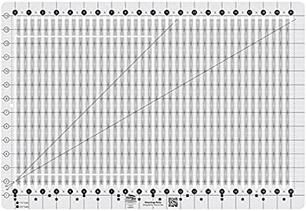 Creative Grids Stripology Slotted Quilting Ruler 模板 CGRGE1