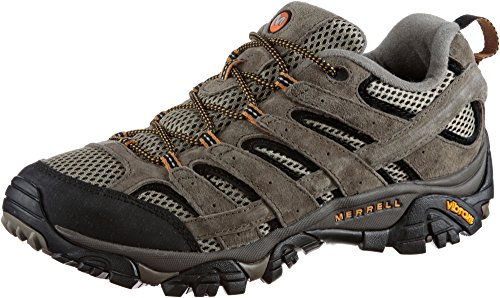 Photo of Merrell Men's Moab 2 Vent Low Rise Hiking Boots, Brown Pecan, 8.5 UK