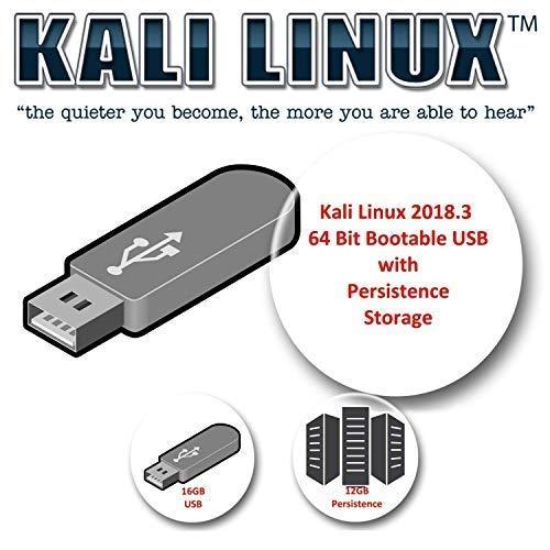 Kali Linux 2018.3 su USB da 16GB con volume di persistenza da 12GB per i test di penetrazione