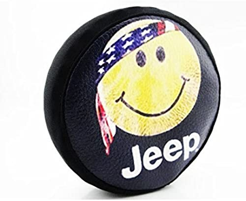 precios ultra bajos Hot Racing SCX36117H 1 10 Scale Happy Face Face Face Spare Tires Cover - (toy) by Hot Racing  costo real