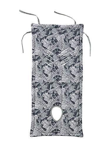 VERTBAUDET Buggy-Sitzauflage graugrün/dschungelprint ONE SIZE