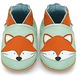 Zapatos Bebe Niña - Zapatillas Niña - Patucos Primeros Pasos - Zorro Gris - 6-12 Meses