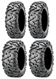 Full set of Maxxis BigHorn 2.0 Radial 24x8-12 and 24x10-11 ATV Tires (4)