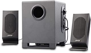 JIAOJIEB Bass Cannon 2.1 Multimedia Speaker, Audio Computer Speaker, Black, Durable Exquisite craftsmanship, high quality sound