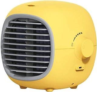 YPSMLYY Acondicionador De Aire Dinámico Portátil Montado En El Vehículo Acondicionador De Aire Ventilador Silenciador De Aire Acondicionado Personal Interfaz USB con Ventilador De Humidificación