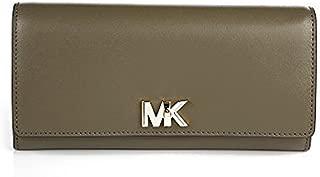 Women's Large Mott Carryall Liberty Leather Wallet