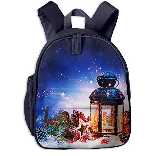Kinderrucksack Kleinkind Jungen Mädchen Kindergartentasche Magische magische Laterne Backpack Schultasche Rucksack