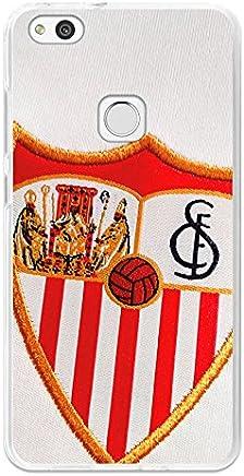 c5c4941b54c BeCool Funda Gel Flexible Sevilla FC para Huawei P10 Lite - Carcasa TPU  Licencia Oficial Sevilla