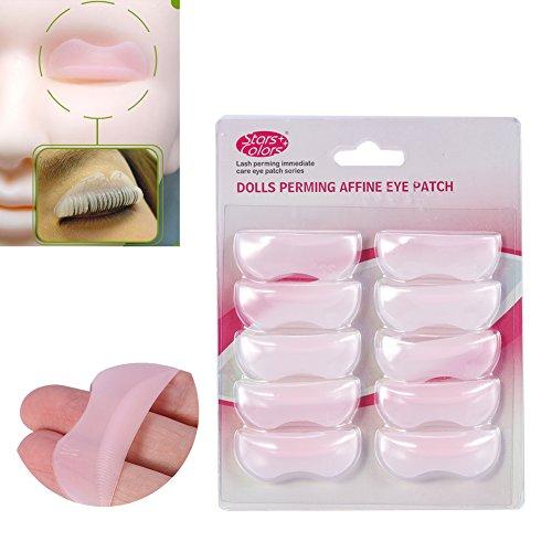 5 Paires/Set de Cils Perm Pad - Cils Lift Lift, Outils de Maquillage Beauté - Outil D'Extension de Cils RéUtilisable - Eye Pad Avancé, Outil de Maquil