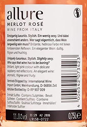 allure Merlot Rosé HalbTrocken (1 x 0.75 l) - 3