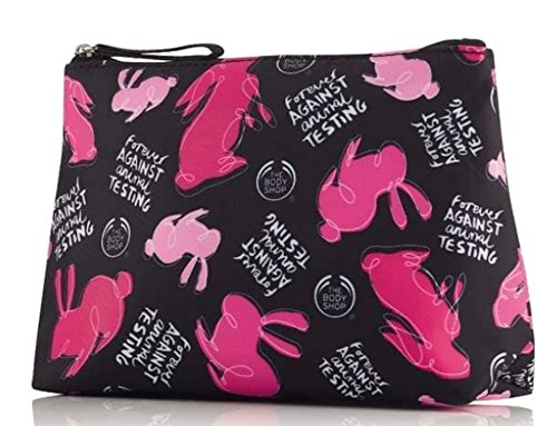 The Body Shop Forever Against Animal testing Cosmetics bag