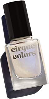 Cirque Colors Shimmer Holographic Sparkle Nail Polish - 0.37 fl. oz. (11 ml) - Vegan, Cruelty-Free, Non-Toxic Formula (Mystic Moonstone)
