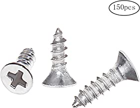 TX10 Halbrundkopf PAN HEAD Vollgewinde 50, 3x10 mm Holzschrauben A2 Edelstahl Torx 50 St/ück Spanplattenschrauben 3x10 mm