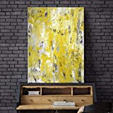 N / A Living Room Decoration Picture Artwork Wall Abstract Canvas Painting Modern Poster Frameless 30x40cm