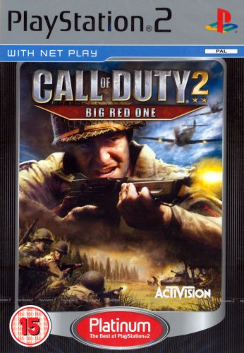 Call of Duty 2: Big Red One Platinum (PS2)
