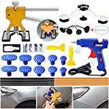 YOOHE Auto Paintless Dent Repair Kits - Golden Car Dent Puller with Bridge Dent Puller Kit...