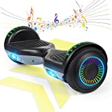 FLYING-ANT Hoverboard 6.5' w/Bluetooth Speaker Self Balancing Scooter Flashing Wheels UL2272 Certified Great Gifts for Children Adult Outdoor Sports Easy to Use