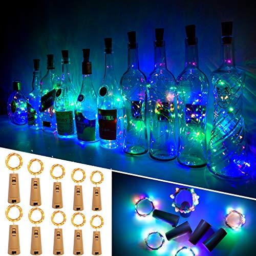 Luces Para Botellas, Ariceleo 10 Piezas 2 Metros 20