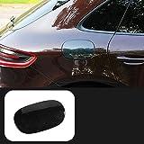 XQRYUB Autocollant de Couverture de réservoir de Garniture de réservoir de Carburant de Voiture ABS, pour Porsche Macan 2014...