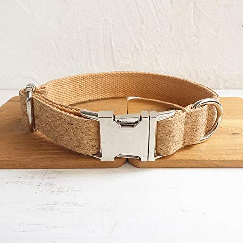 Conjunto Personalizado de Collar y Corbata para Perros Collar y Correa para Perros Ajustables con Nudo de Lazo adecuados para Perros pequeños, medianos y Grandes