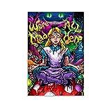 CANCUI Art Poster-Alice im Wunderland Deko Poster deko