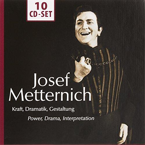 Josef Metternich: Kraft, Dramatik, Gestaltung
