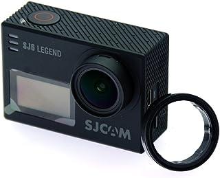 SJCAM レンズ 保護 キャップ カバー + Cloud ElevenⓇレンズクロス セット (SJ6 LEGEND用UVフィルター)
