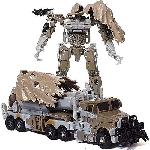 YUIOPA Trasformatore Giocattoli, Trasformazione Robot Super Megatrone Trasformare Il Regalo per Bambini Figure di Azione Auto - 7 Pollici