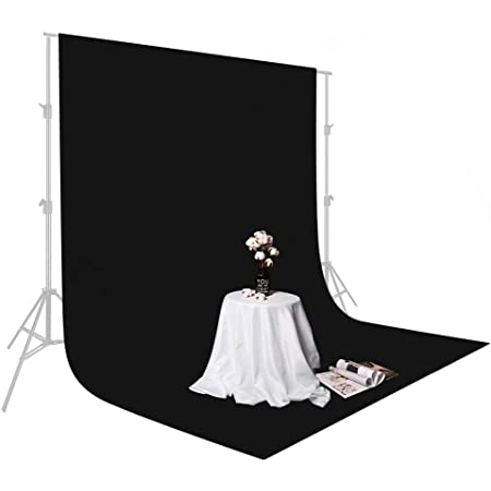 Solid Black Photography Background Light Absorbing Cloth Photo Backdrop