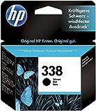 HP 338 C8765EE Negro, Cartucho Original, de 480 páginas, para impresoras HP DeskJet serie 6500, 5700; Photosmart serie 3100, 2700, 8700 y OfficeJet serie 7400, 7200
