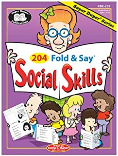 204 Fold & Say Social Skills