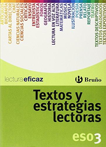 Textos y estrategias lectoras 3 ESO (Castellano - Material Complementario - Textos Y Estrategias Lectoras) - 9788421660270