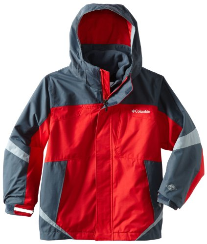 Columbia Boys 8-20 Boys Bugaboo Interchange Jacket, Bright Red, 14/16