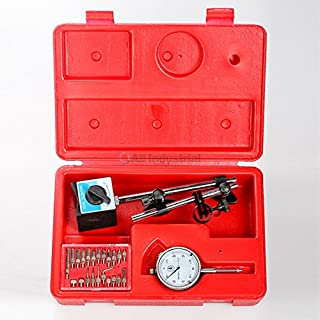All Industrial Tool Supply TR72020 Dial Indicator (Magnetic Base & Point Precision Inspection Set)