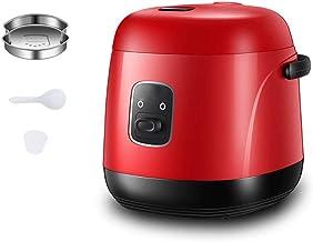 -1.2L Elektrische rijstkoker met Steam & Rinse Basket Draagbare Mini Rijstkoker NonStick 15 minuten Fast Cooking Re-verwar...