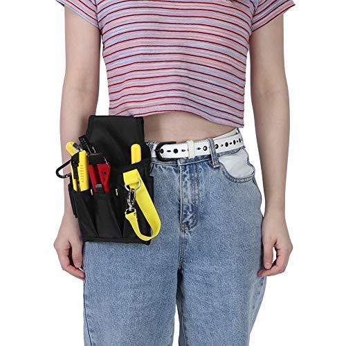 Bolsa de almacenamiento de herramientas, bolsa de almacenamiento de herramientas portátil Kit de reparación de piezas de hardware de tela Oxford Bolsa de herramientas de jardín