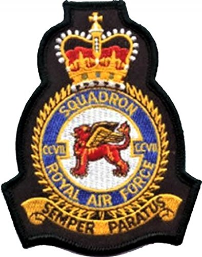 1000 Flags No. 206(R) squadrone Royal Air Force RAF Crest MOD Patch Ricamato
