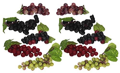 Black Duck Deals 10 Bunches of Artificial Grapes (10)