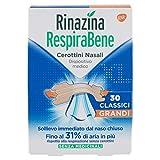Rinazina Respirabene Cerottini Nasali 30 Classici Grandi - 38 g
