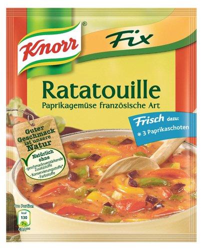 Knorr Fix für Ratatouille, 8er Pack (8 x 40 g Beutel)