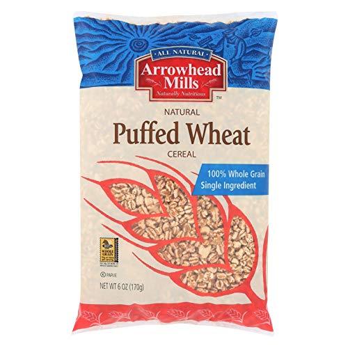 CEREAL,PUFFED WHEAT No Salt - 6 Oz Bags - 12 Per Case.