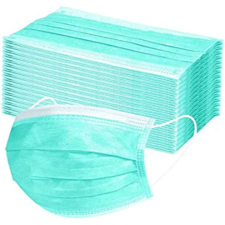 QISINI 50 La Protezione Una tantum per Adulti a Tre Strati Impermeabile e Traspirante può isolare efficacemente i batteri