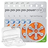 30x/60x/120x Power One Hörgerätebatterien +...