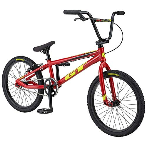 BICICLETAS GT GT 20 BMX Mach One Pro Bicicleta Ciclismo, Adultos Unisex, Rojo (Rojo), Talla Única