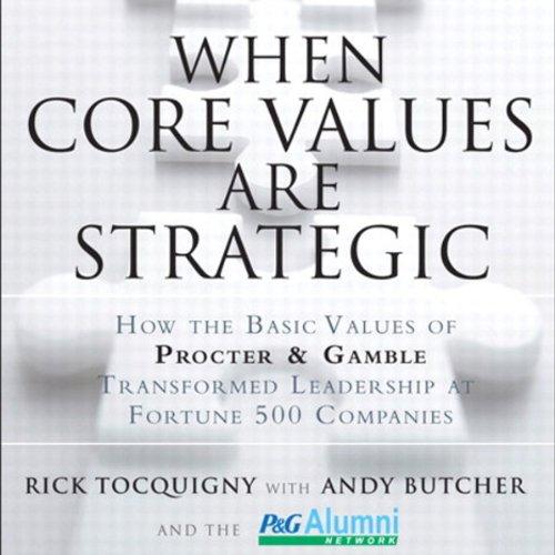 When Core Values Are Strategic cover art