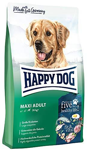 Happy Dog 60761 - Supreme fit & vital Maxi Adult - Hunde-Trockenfutter für große Hunde - 14 kg Inhalt